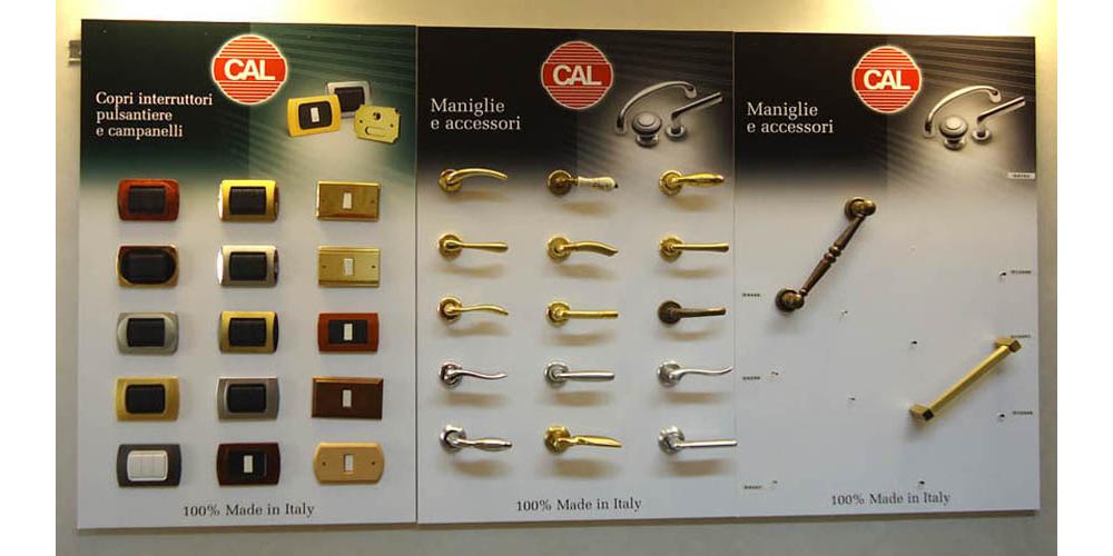 CAL - Maniglie e Accessori
