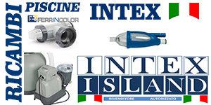 BANNER INTEX ISLAND PICCOLO RICAMBI