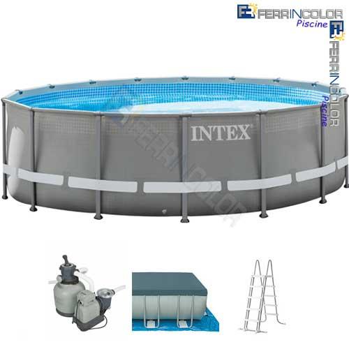 Intex piscina ultraframe 549x132 26332 c accessori - Accessori piscine intex ...