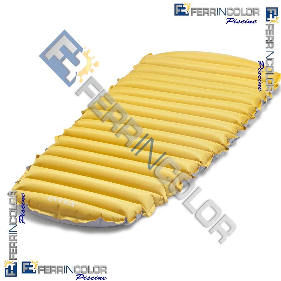 Intex materassino camping onde 76x183x10 68708 ferrincolor for Prodotti intex