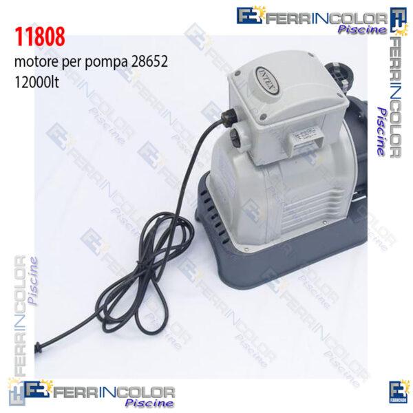 Intex motore 11808 per pompa sabbia 28652 12000lt ferrincolor - Ricambi piscine intex ...